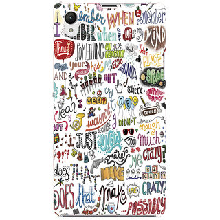Sony Xperia Z3 Dual Printed Back Cover by Print Vale