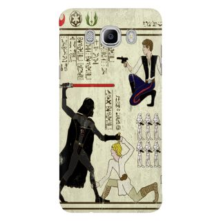 Dreambolic Hero Glyphics The Force Mobile Back Cover