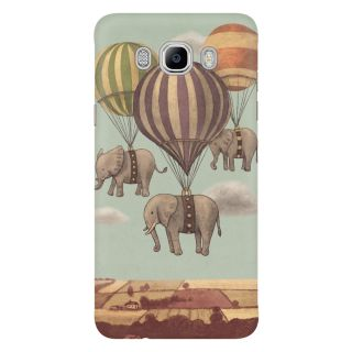 Dreambolic Highflying Elephants Mobile Back Cover