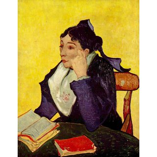 The Museum Outlet - Madam Ginoux by Van Gogh - Poster Print Online Buy (30 X 40 Inch)