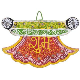 Shree Sugandh shub labh in handcrafted design