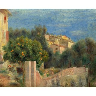 The Museum Outlet - The Artists House in Cagnes - Poster Print Online Buy (30 X 40 Inch)