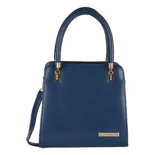 Lino Perros Black Hand Bag LWHB01841BLUE