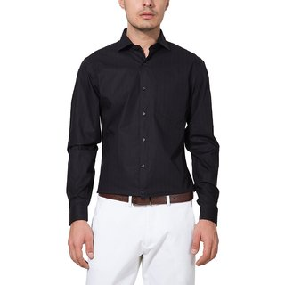 Black Shirt  Mens Fashions Formal Shirt