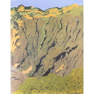 The Museum Outlet - Cliffs by Felix Vallotton - Poster Print Online Buy (24 X 32 Inch)