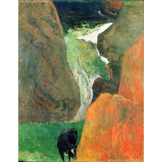 The Museum Outlet - Hover Above the Abyss by Gauguin - Poster Print Online Buy (24 X 32 Inch)