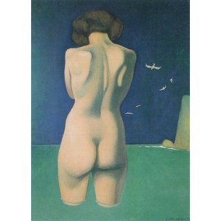 The Museum Outlet - In the water by Felix Vallotton - Poster Print Online Buy (24 X 32 Inch)