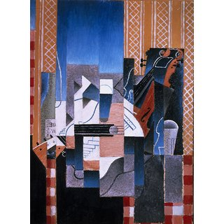 The Museum Outlet - Juan Gris - Violin and Guitar - Poster Print Online Buy (24 X 32 Inch)