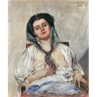 The Museum Outlet - Donna Gravida by Lovis Corinth - Poster Print Online Buy (24 X 32 Inch)