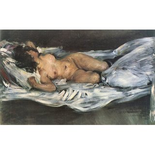 The Museum Outlet - Nude by Lovis Corinth - Poster Print Online Buy (24 X 32 Inch)