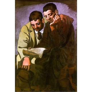 The Museum Outlet - ReadingTheLetterPicasso1921small - Poster Print Online Buy (30 X 40 Inch)