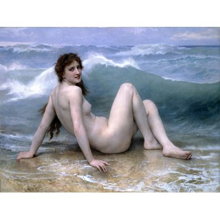 The Museum Outlet - The Wave - Poster Print Online Buy (24 X 32 Inch)