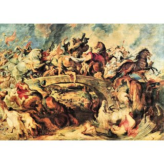 The Museum Outlet -  Battle by Rubens - Poster Print Online Buy (24 X 32 Inch)