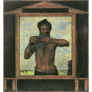 The Museum Outlet - Pan by Franz von Stuck - Poster Print Online Buy (24 X 32 Inch)
