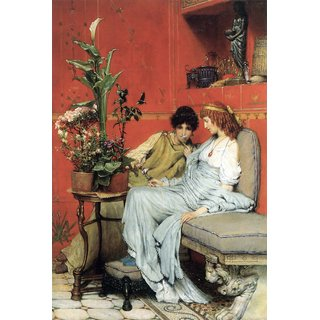 The Museum Outlet - Penetralia by Alma-Tadema - Poster Print Online Buy (24 X 32 Inch)
