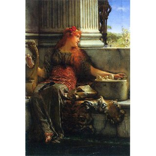 The Museum Outlet - Poesie by Alma-Tadema - Poster Print Online Buy (24 X 32 Inch)