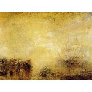 The Museum Outlet - Whalers by Joseph Mallord Turner - Poster Print Online Buy (24 X 32 Inch)