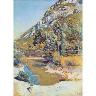 The Museum Outlet - Am Fuss des Petit Saleve, 1890 - Poster Print Online Buy (24 X 32 Inch)