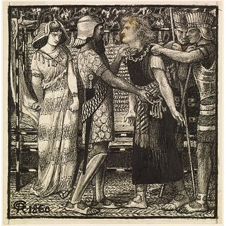 The Museum Outlet - Joseph accused Before Potiphar (Finished Composition), 1860 - Poster Print Online Buy (24 X 32 Inch)