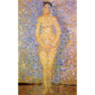 The Museum Outlet - Study of a model by Seurat - Poster Print Online Buy (24 X 32 Inch)