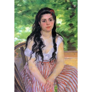 The Museum Outlet - Summertime study by Renoir - Poster Print Online Buy (24 X 32 Inch)