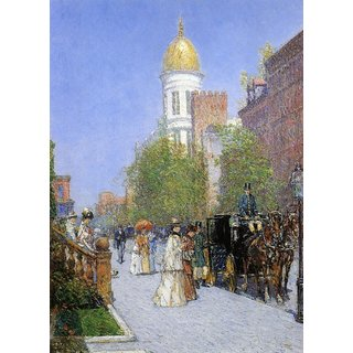 The Museum Outlet - A Spring Morning, 1891-92 - Poster Print Online Buy (24 X 32 Inch)