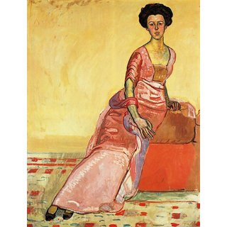 The Museum Outlet - Portrait of Gertrud Muller - Poster Print Online Buy (24 X 32 Inch)