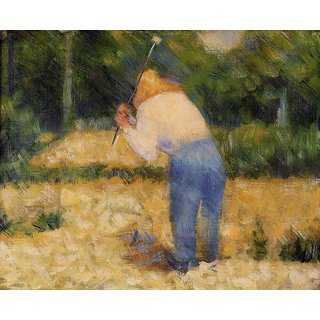 The Museum Outlet - The Stone Breaker 1881-2 - Poster Print Online Buy (24 X 32 Inch)