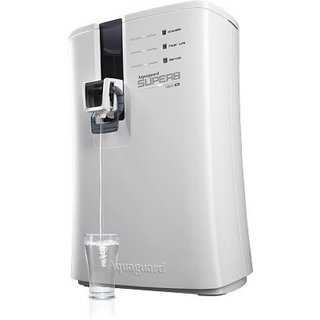 RO+UV+UF 6.5 L RO + UV +UF Water Purifier  (Black and White)