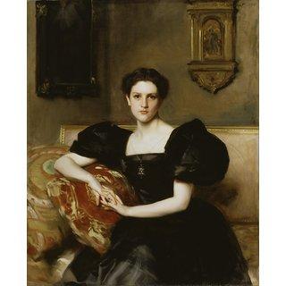 The Museum Outlet - John Singer Sargent - Elizabeth Winthrop Chanler (Mrs. John Jay Chapman) - Poster Print Online Buy (24 X 32 Inch)
