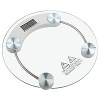 Digital Weighing Scale Transparent Glass