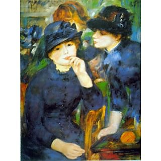 The Museum Outlet - Two Girls by Renoir - Poster Print Online Buy (24 X 32 Inch)