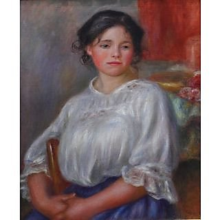 The Museum Outlet - Young Woman Seated, 1909 - Poster Print Online Buy (30 X 40 Inch)