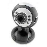 Quantum PC Web Cam 25 MP Interpolated USB 6 LED Lights Camera Mic Chat QHM 495LM