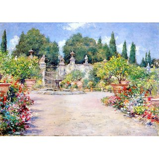 The Museum Outlet - An Italian Garden, 1909 - Poster Print Online Buy (30 X 40 Inch)
