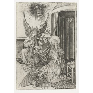 The Museum Outlet - Annunciation. 1470-1490 - Poster Print Online Buy (30 X 40 Inch)
