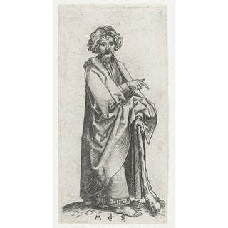 The Museum Outlet - Apostle Jude Thaddeus (James the Less). 1470-1490 - Poster Print Online Buy (30 X 40 Inch)