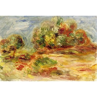 The Museum Outlet - Cagnes Landscape 03 - Poster Print Online Buy (30 X 40 Inch)
