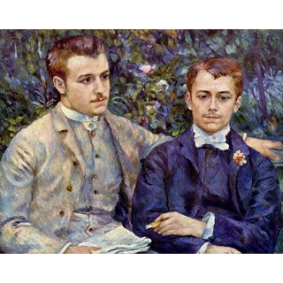 The Museum Outlet - Charles and Georges Durand-Ruel, 1882 - Poster Print Online Buy (30 X 40 Inch)