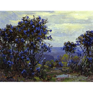 The Museum Outlet - Mountain Laurel in Bloom - Poster Print Online Buy (30 X 40 Inch)