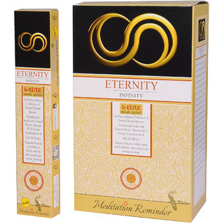 ETERNITY  Incense Sticks,total - 180 agarbatti sticks ,SWEET BASIL flavoured ,12 boxes of 15 grams sticks