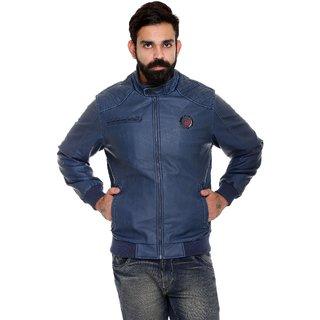 Trufit Navy Blue Long Sleeve Mens Jacket