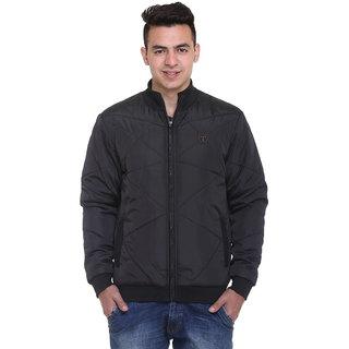Trufit Black Long Sleeve Mens Jacket