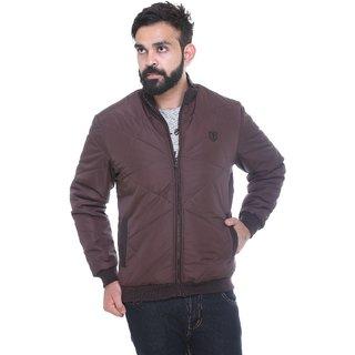 Trufit Coffee Long Sleeve Mens Jacket