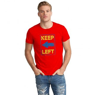 Dreambolic Dem Keep Left Half Sleeve T-Shirt