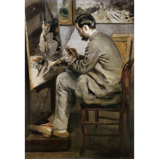 The Museum Outlet - Frederic Bazille Painting 'The Heron', 1867 - Poster Print Online Buy (24 X 32 Inch)