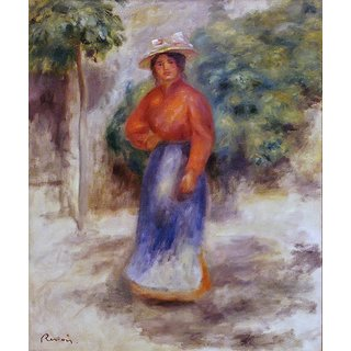 The Museum Outlet - Gabrielle in the Garden - Poster Print Online Buy (24 X 32 Inch)