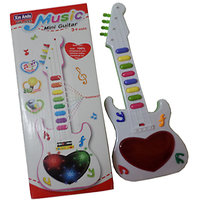 Music Mini Guitar for Kids (Multi Color)