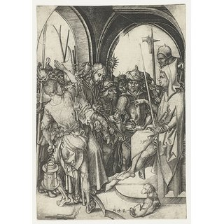 The Museum Outlet - Christ before Annas. 1470-1490 - Poster Print Online Buy (30 X 40 Inch)