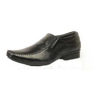 Tussia Men's Leather formal Shoes AP009LFBLK